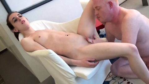 Skinny and pretty Beata enjoys the harness of a cock outside. She wraps her pink sexy lips around my penis and does a great blowjob without even leavi