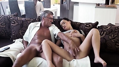 Teen girl Ioana dreams to present her ass at her boyfriend's birthday but her asshole in innocent and she needs to stretch it that's why she