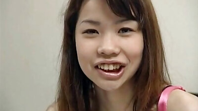 Quite buxom Japanese housewife Mikan Tokonatsu gives head in the shower